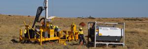 Seismic drilling photo